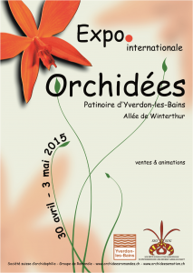 Exposition internationale d'orchidées à Yverson - 2015
